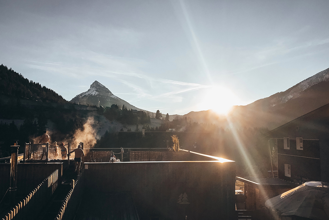 Bains nordiques - Activité insolite dans les Alpes
