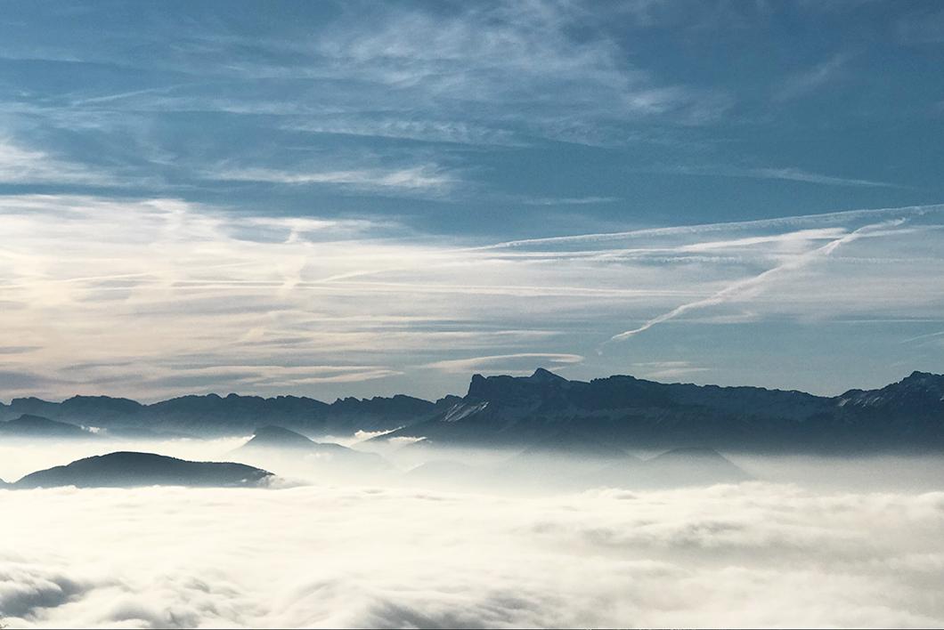 Balade en chien de traineau à Chamrousse - Alpes