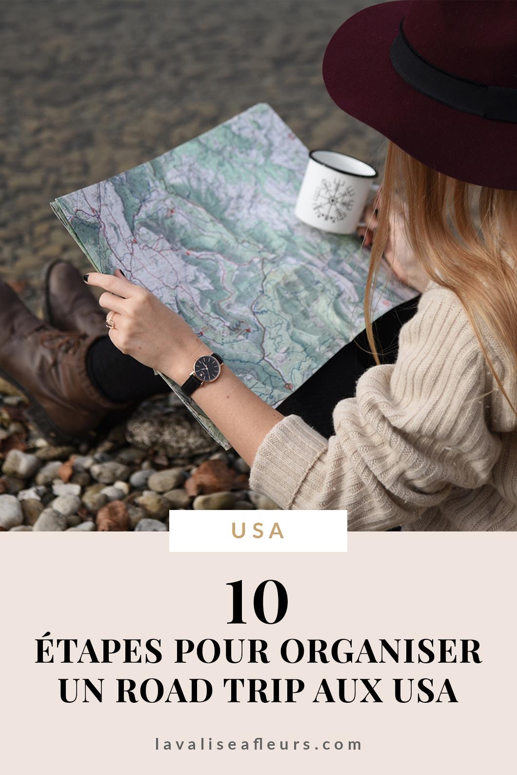 10 étapes pour organiser un road trip aux USA