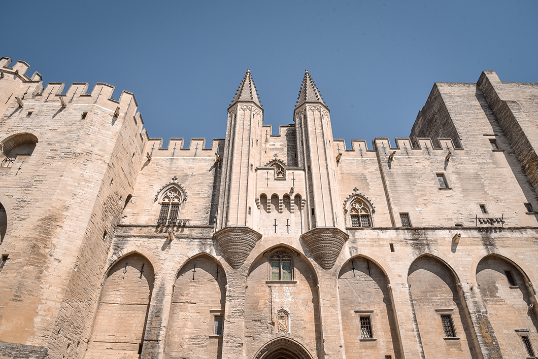 Que visiter à Avignon ? Palais des Papes
