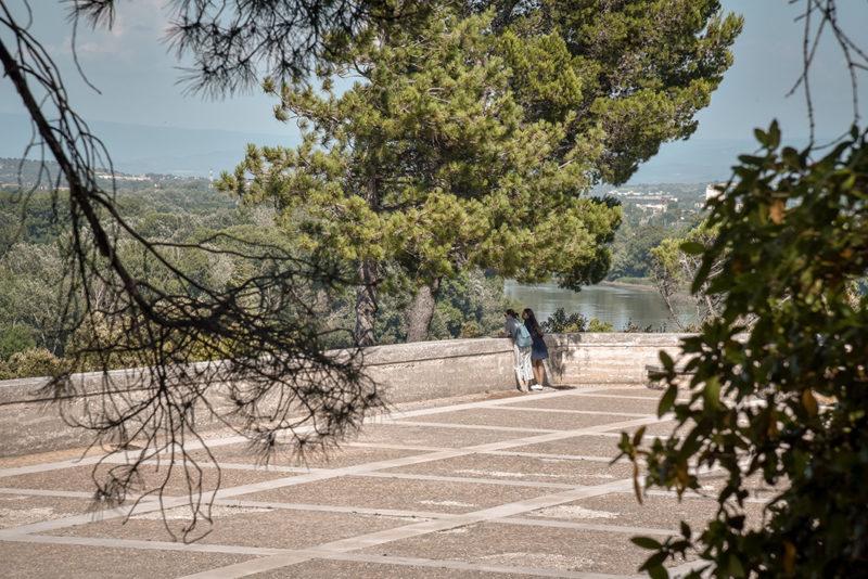 Le jardin du Rocher des Doms - Visites incontournables à Avignon