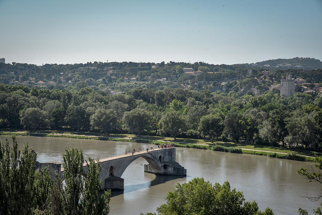 Que faire à Avignon ? Le jardin du Rocher des Doms