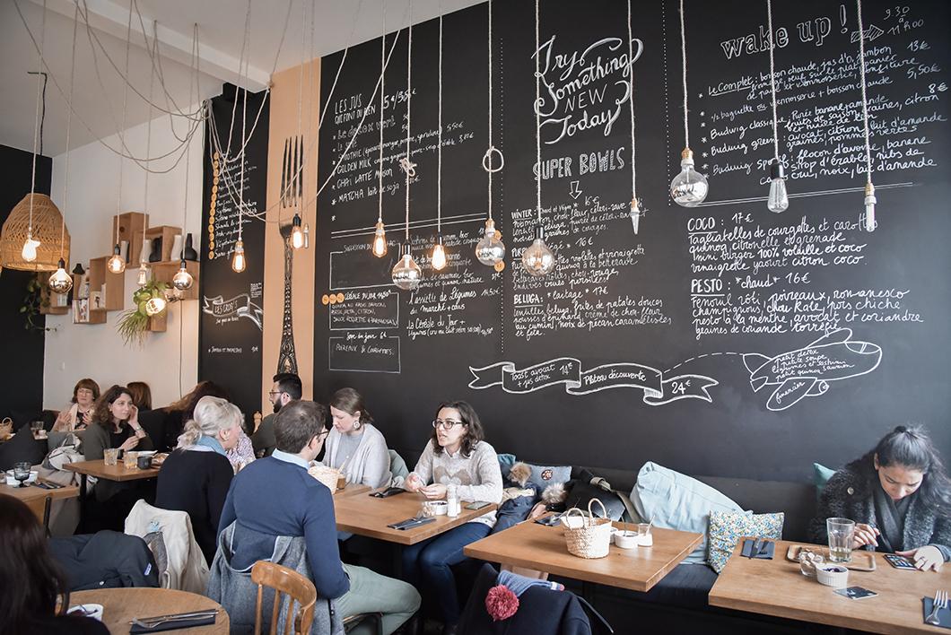 Restaurant Ici à Bruxelles