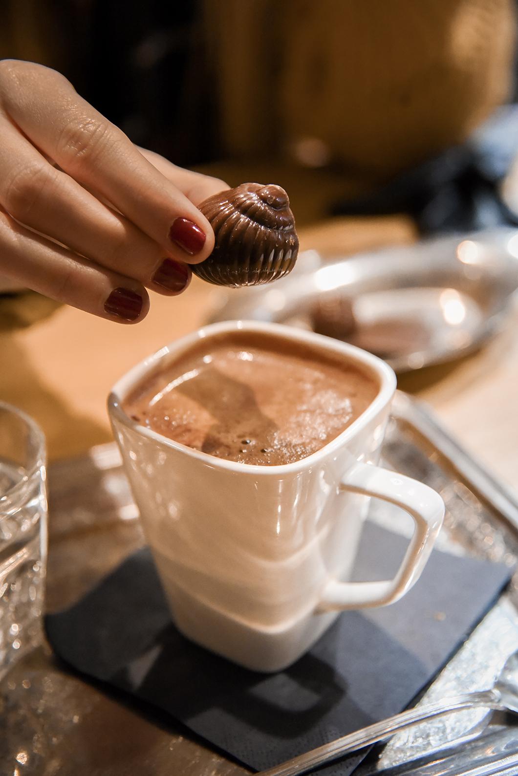 Bonnes adresses à Bruxelles - chocolat chez Frederic Blondeel