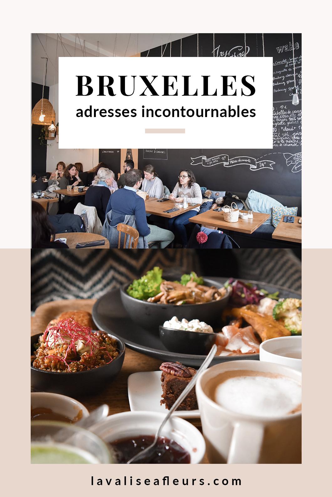 Restaurants et bars incontournables à Bruxelles