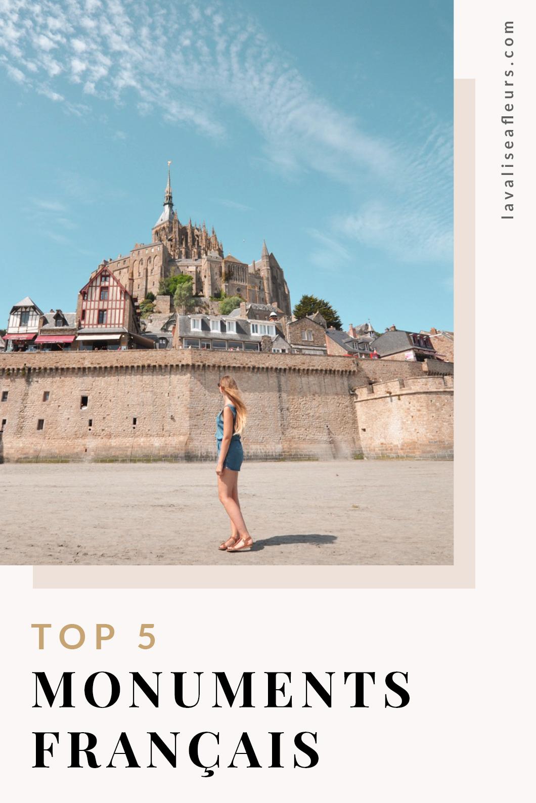 Top 5 des monuments français à visiter