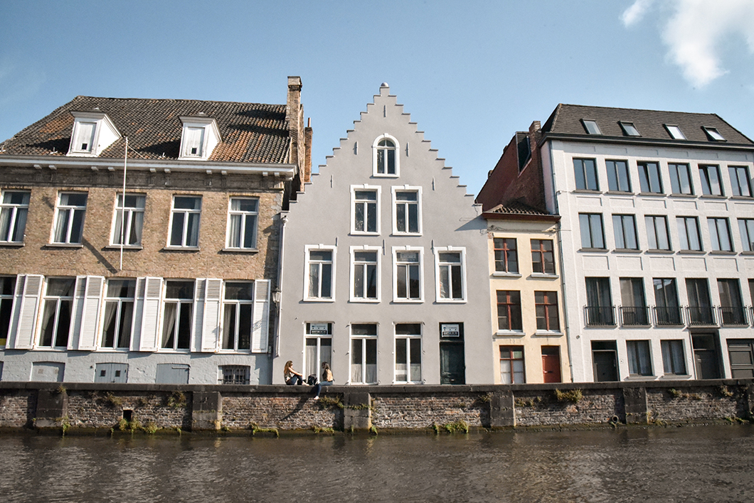 Visite insolite de Bruges en bateau