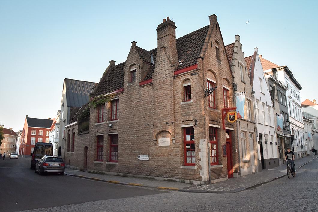 Top des visites à faire à Bruges, le quartier Sint-Annakerk