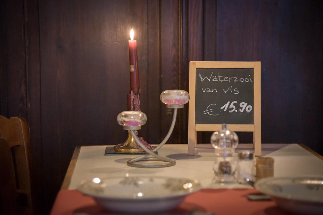 Diner au Ganzespel, restaurant incontournable à Bruges