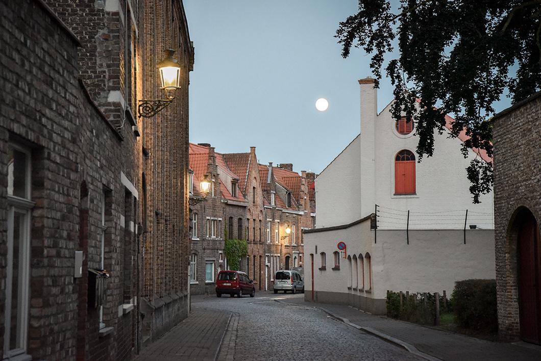 Le quartier Saint-Anne à Bruges
