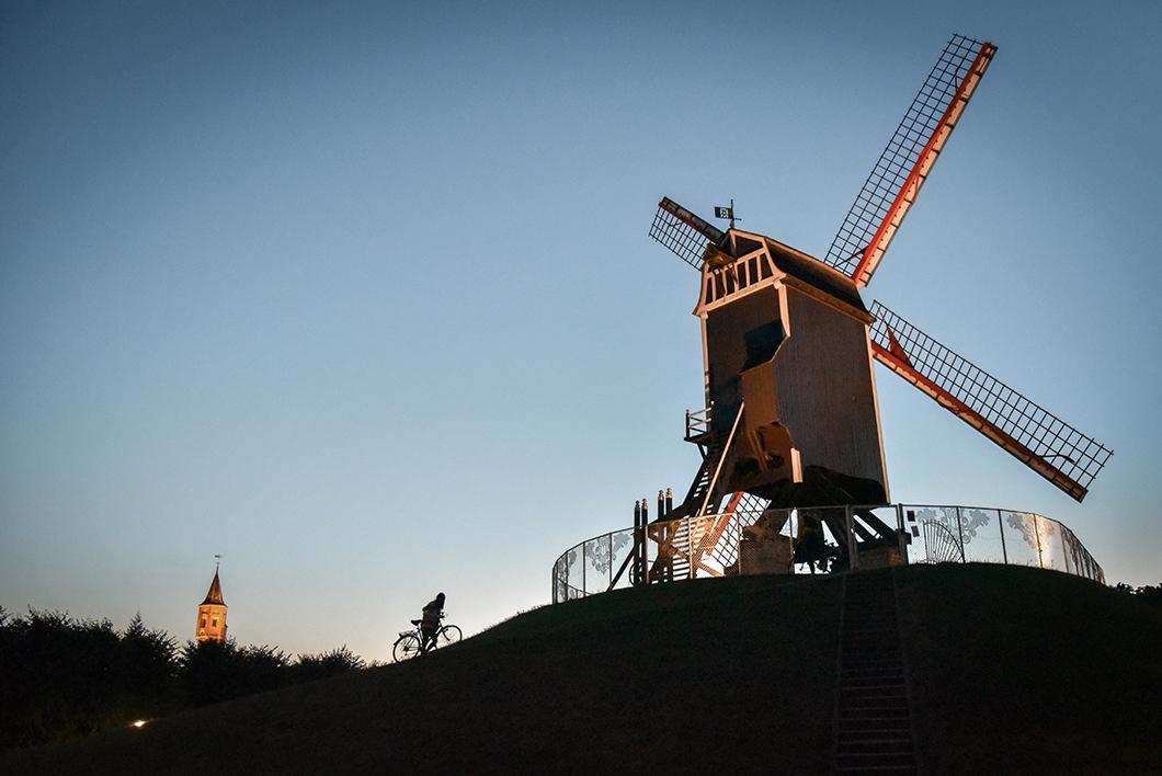 Découvrir les Moulins Saint Jean, incontournable à Bruges