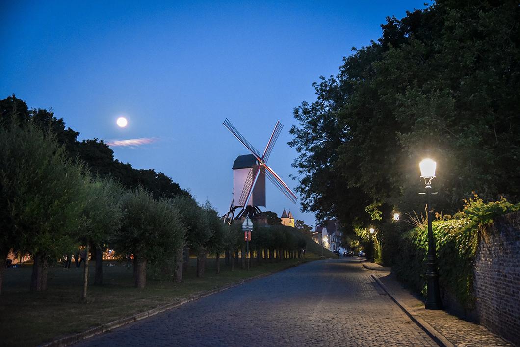 Moulins Saint Jean, top des spots à Bruges