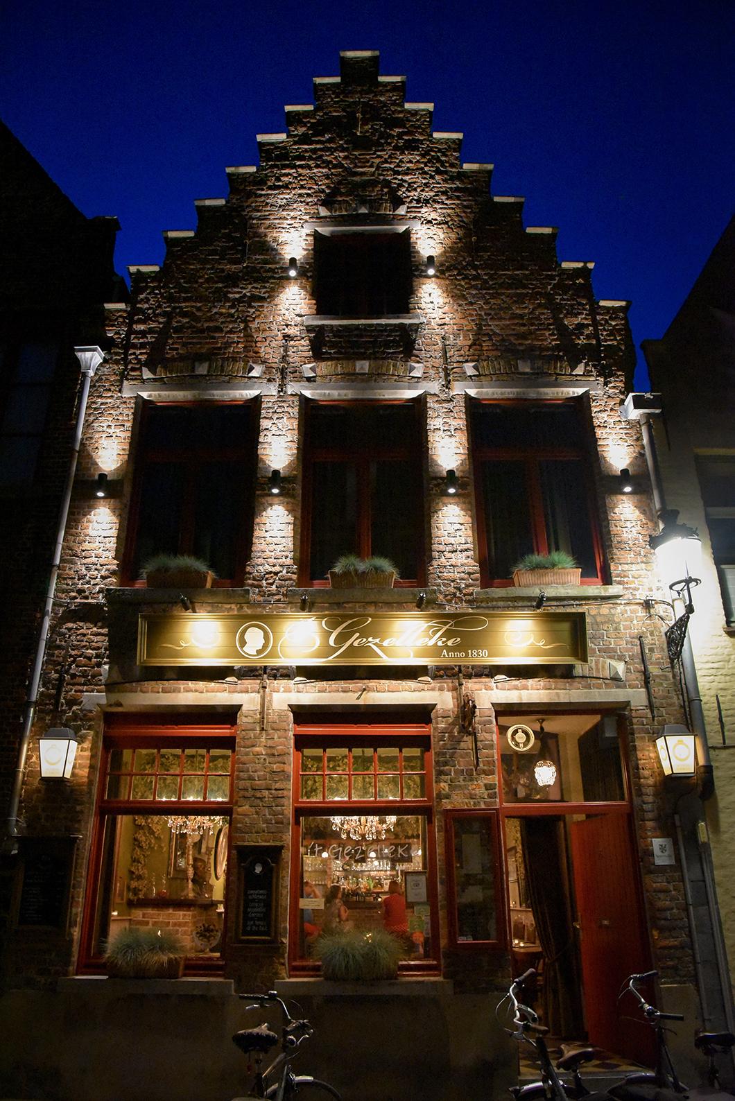 Bruges de nuit