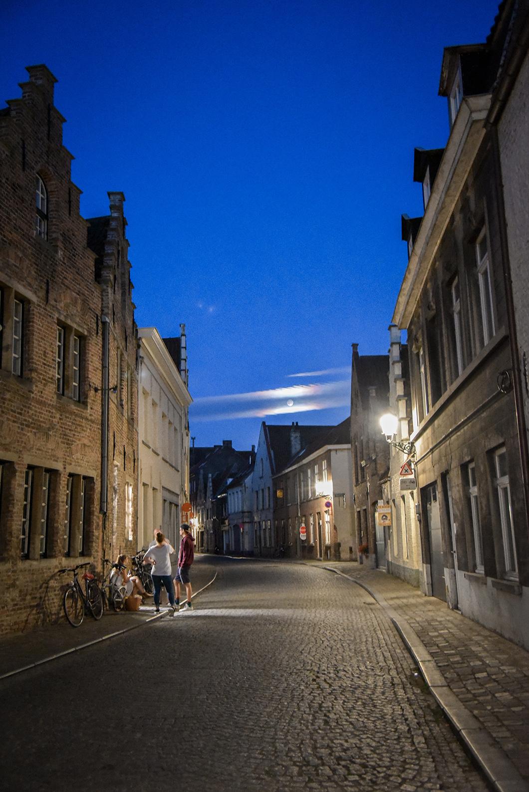 Balade nocturne à Bruges