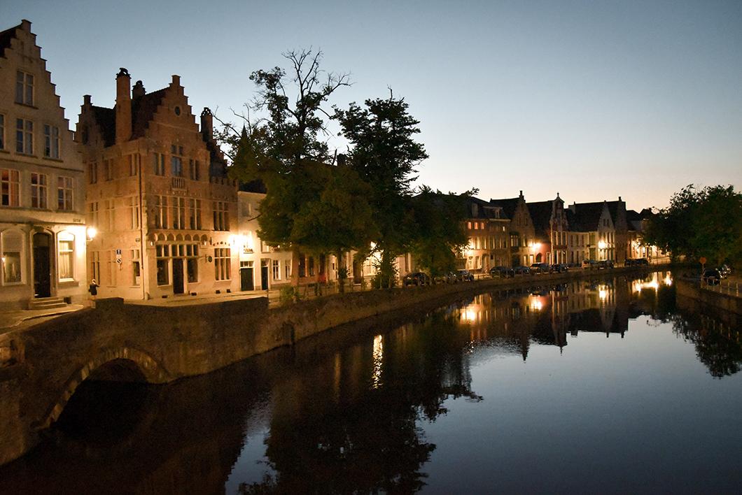 Où se balader à Bruges ? Le Gouden Handrei, le canal de la Main d'or