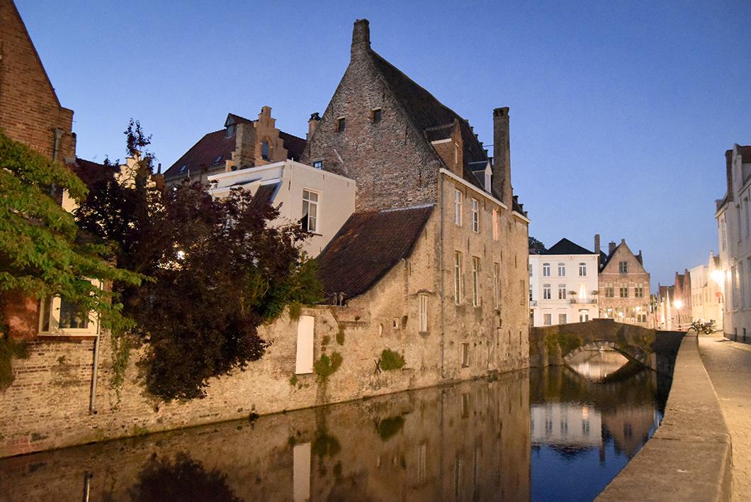 Balade au Canal de la Main d'or à Bruges