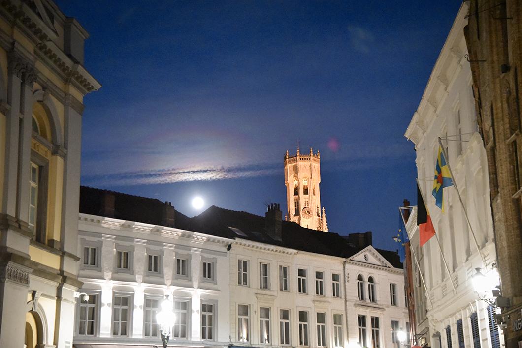 Découvrir Bruges de nuit