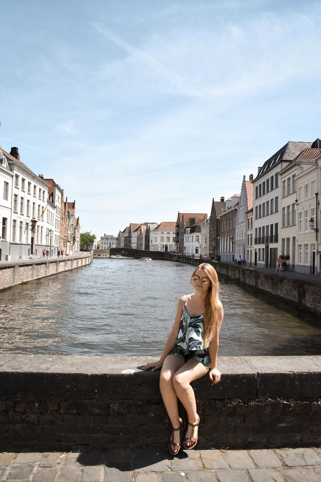 Que faire à Bruges ? Balade sur les quais