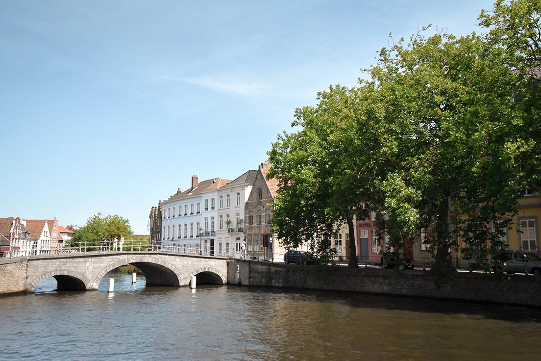 Que visiter à Bruges ? Le Pont Saint-Jean-Népomucène
