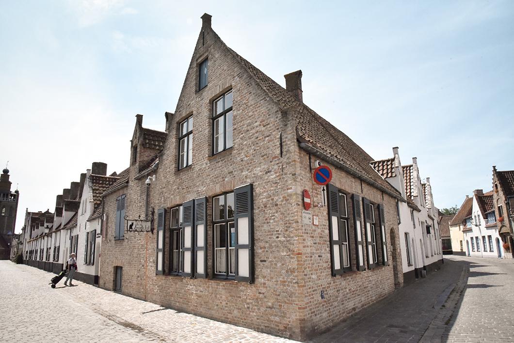 Le quartier Sint-Annakerk, incontournable à Bruges