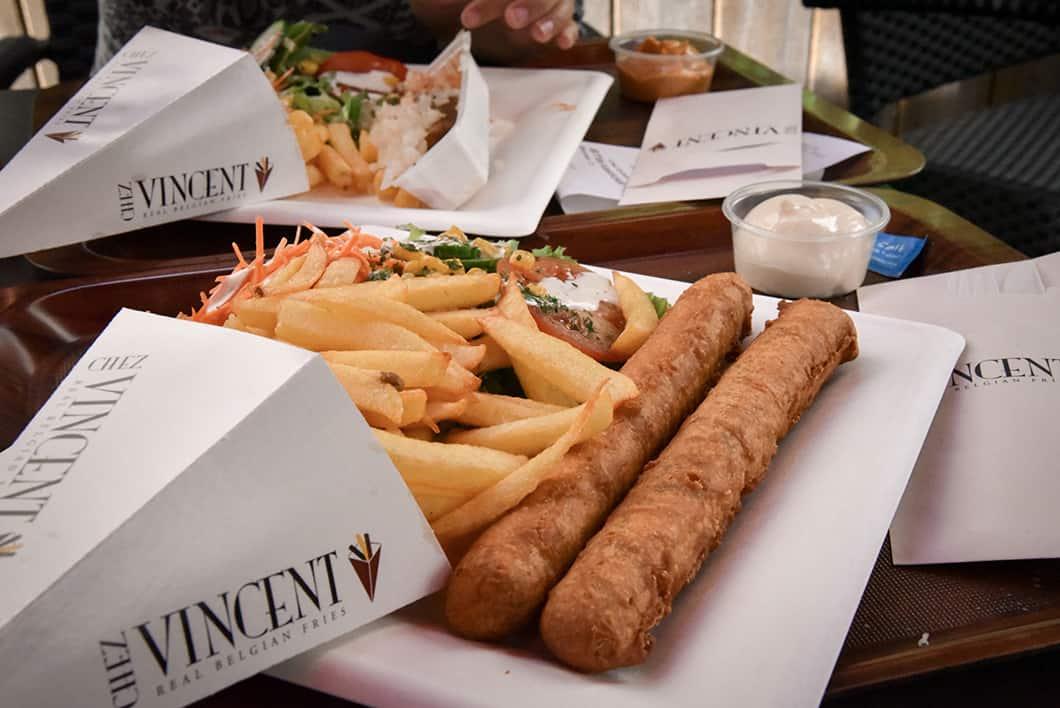 Goûter à la street food belge Chez Vincent