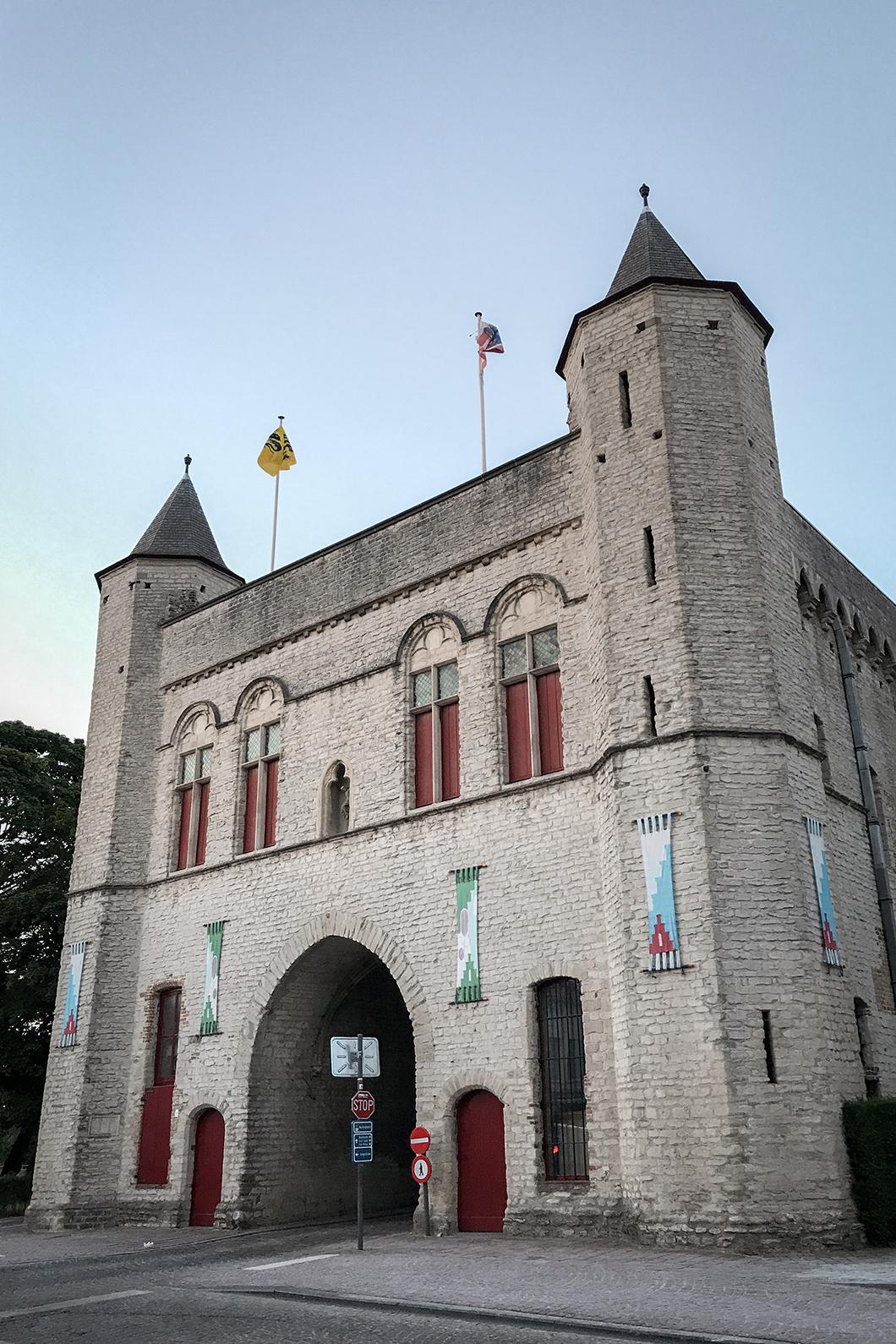 Visite du quartier Saint Anne dans Bruges