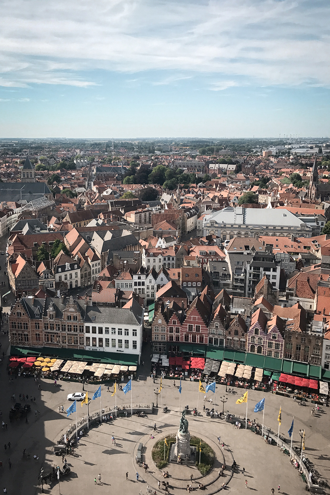 Découvrir la Grand-Place (le Markt), incontournables à visiter à Bruges