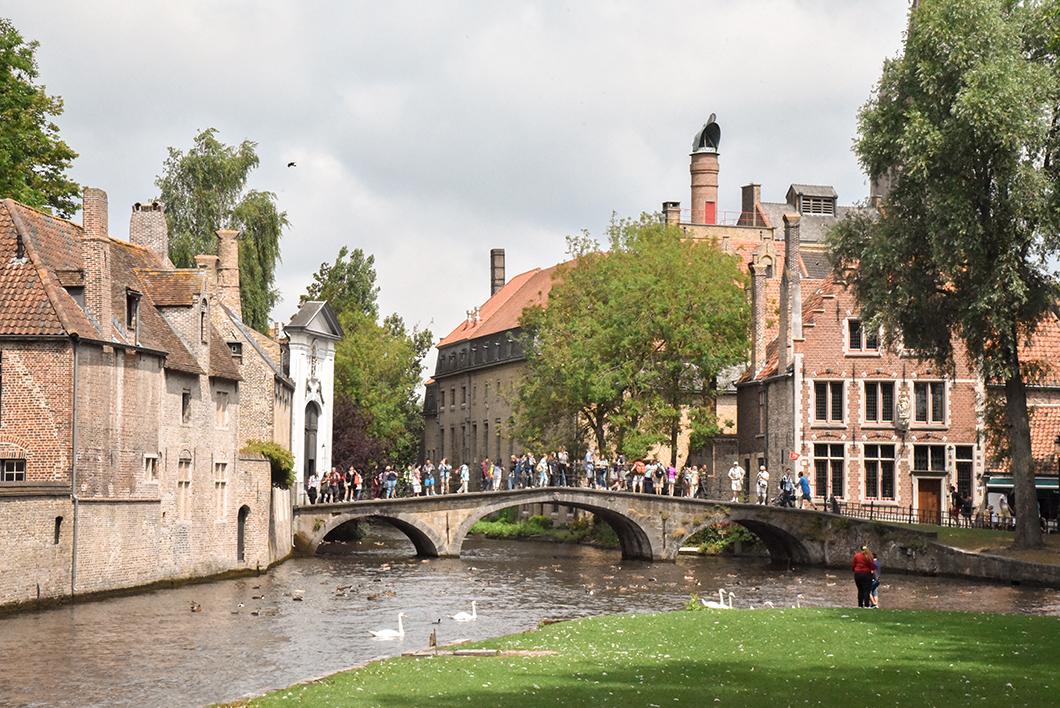 Où se balader à Bruges ? Le Parc Minnewate
