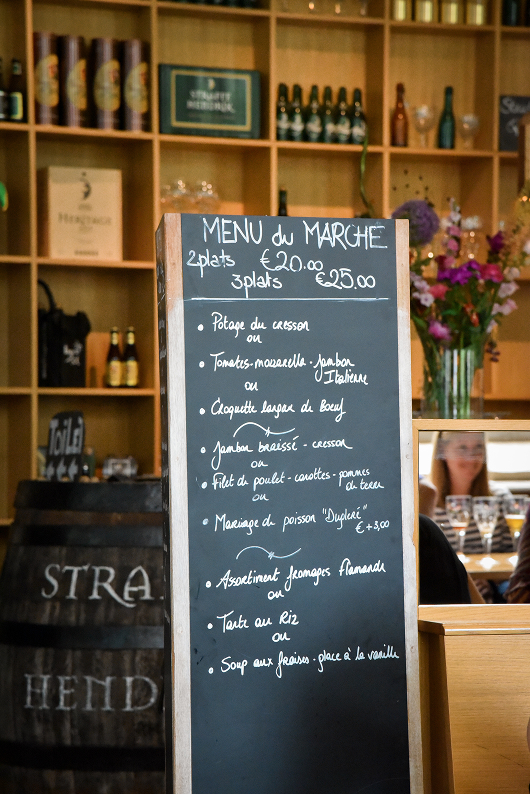 De Halve Maan, super restaurant à Bruges