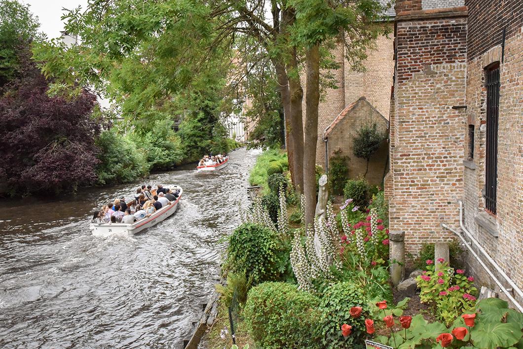 Parc Minnewater, incontournables à Bruges