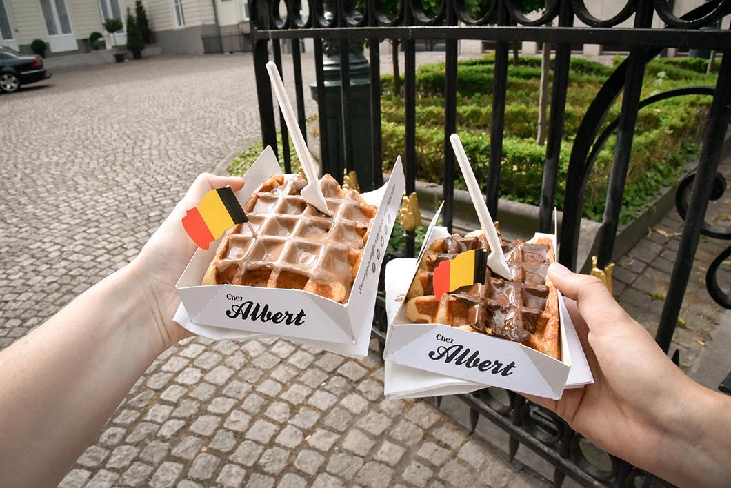 Chez Albert, top des gaufres à Bruges