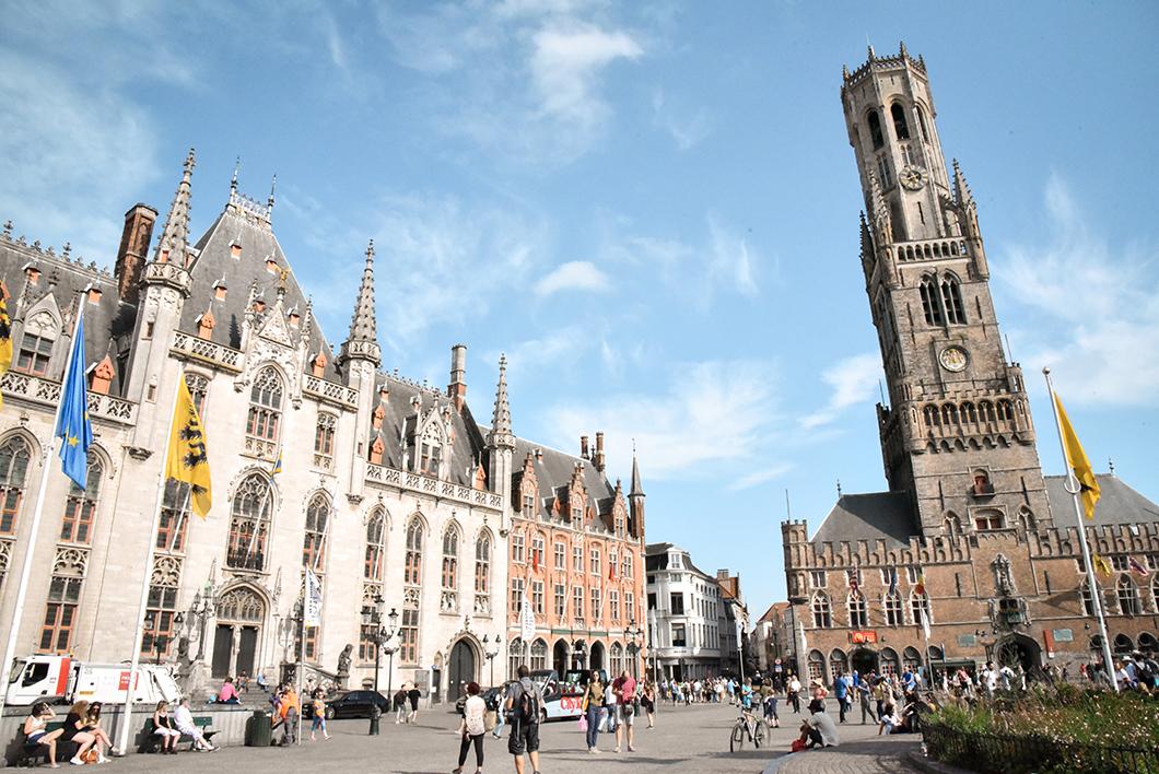 Découvrir le Beffroi à Bruges en Belgique