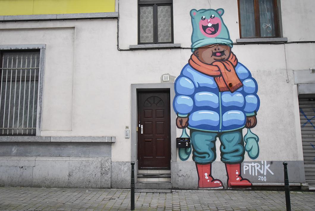 Un week end à Bruxelles - Découvrir le street art