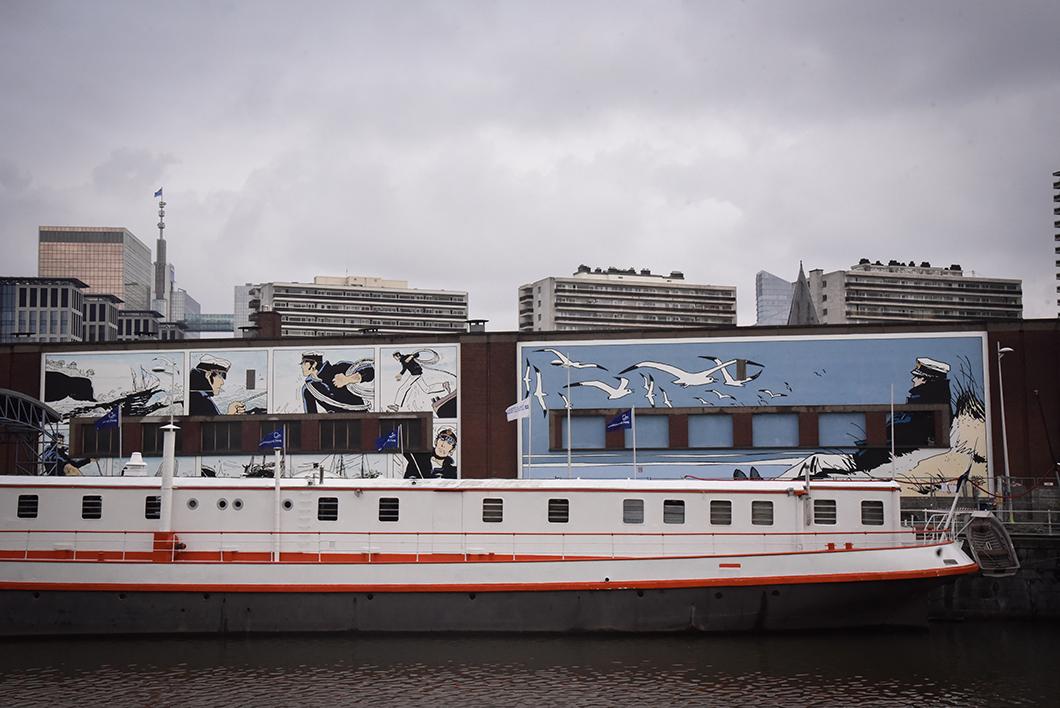 Un week end à Bruxelles - Street art sur les quais
