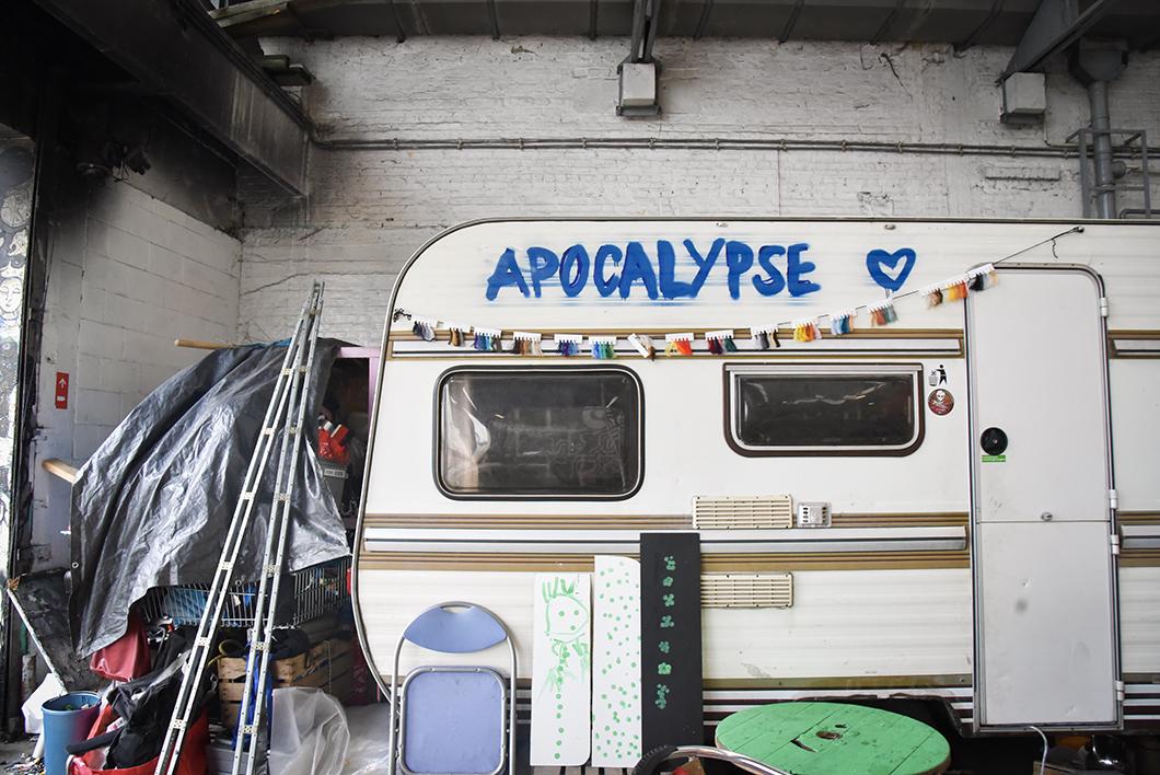 Le street art de l'Allée Du Kaai à Bruxelles