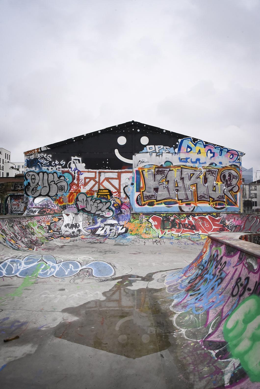 Que visiter à Bruxelles ? L'Allée Du Kaai, place du street art