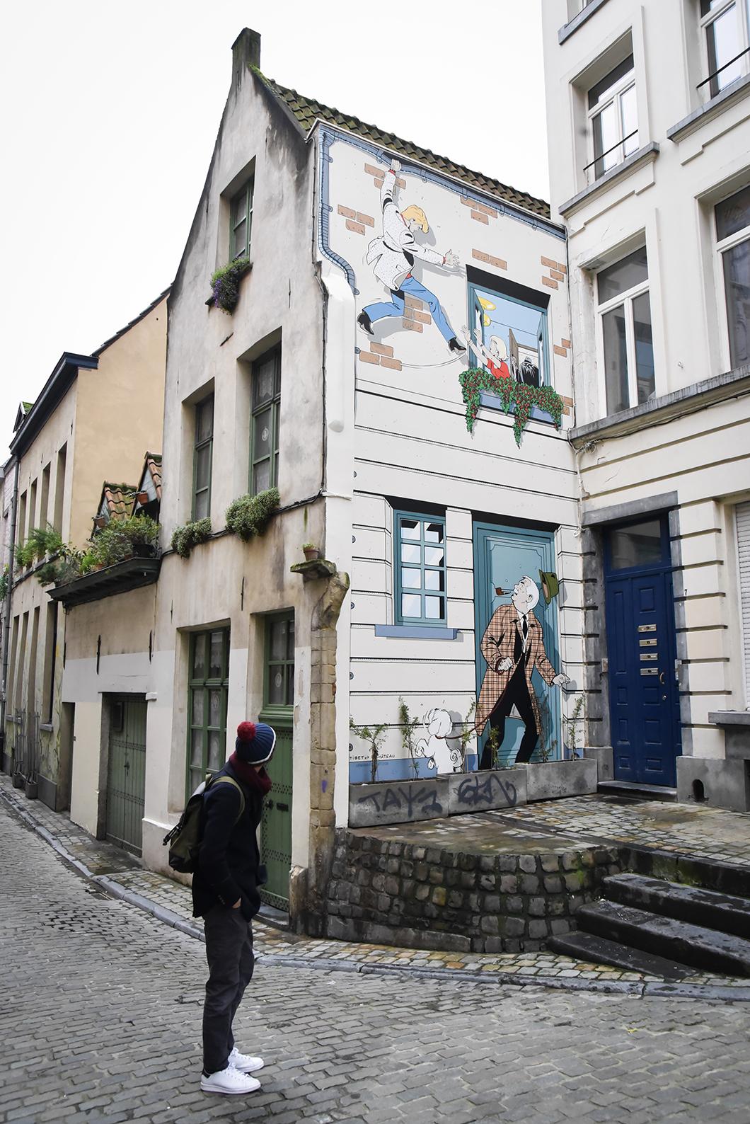 Faire le parcours BD à Bruxelles