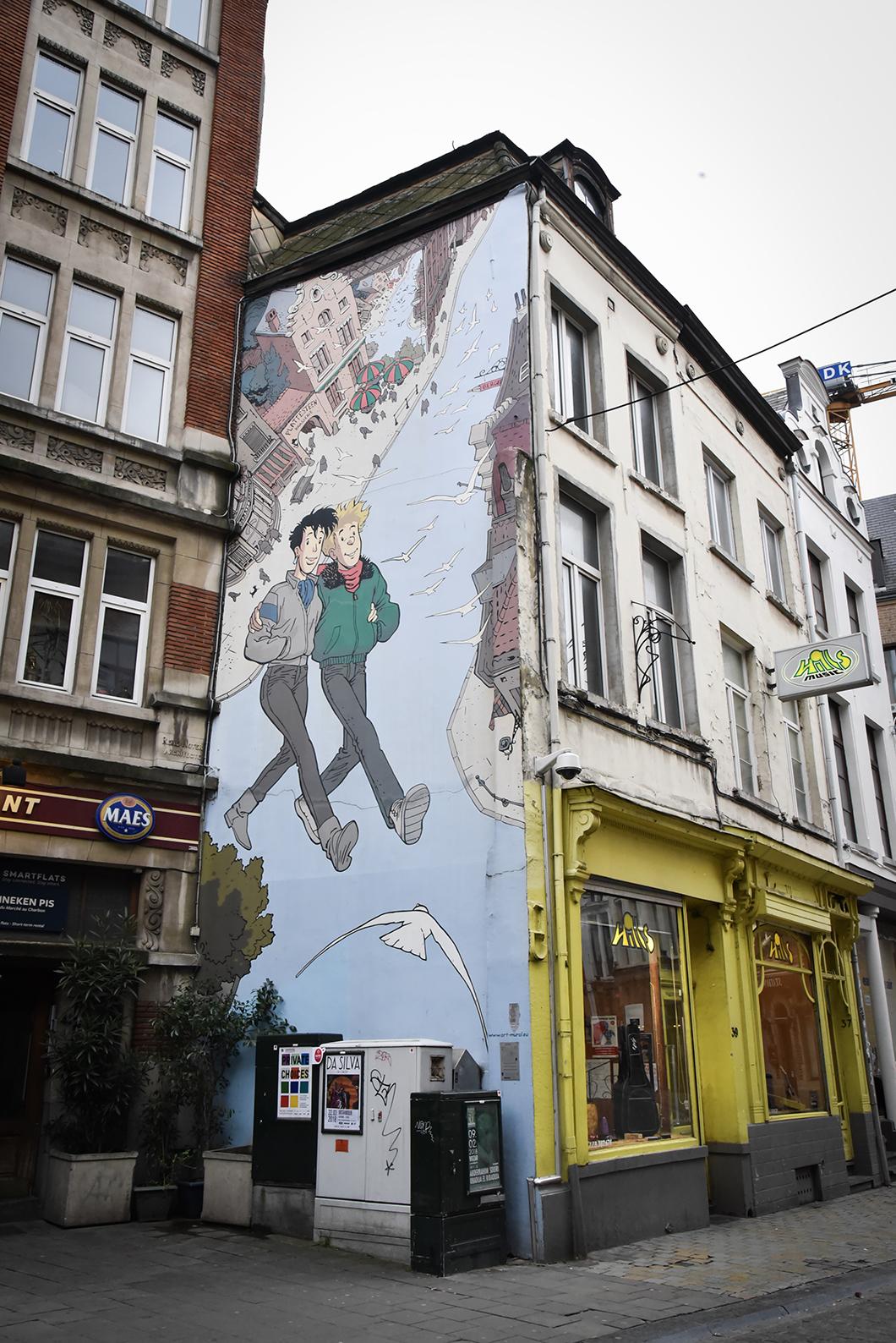 Le parcours BD à Bruxelles - Itinéraires