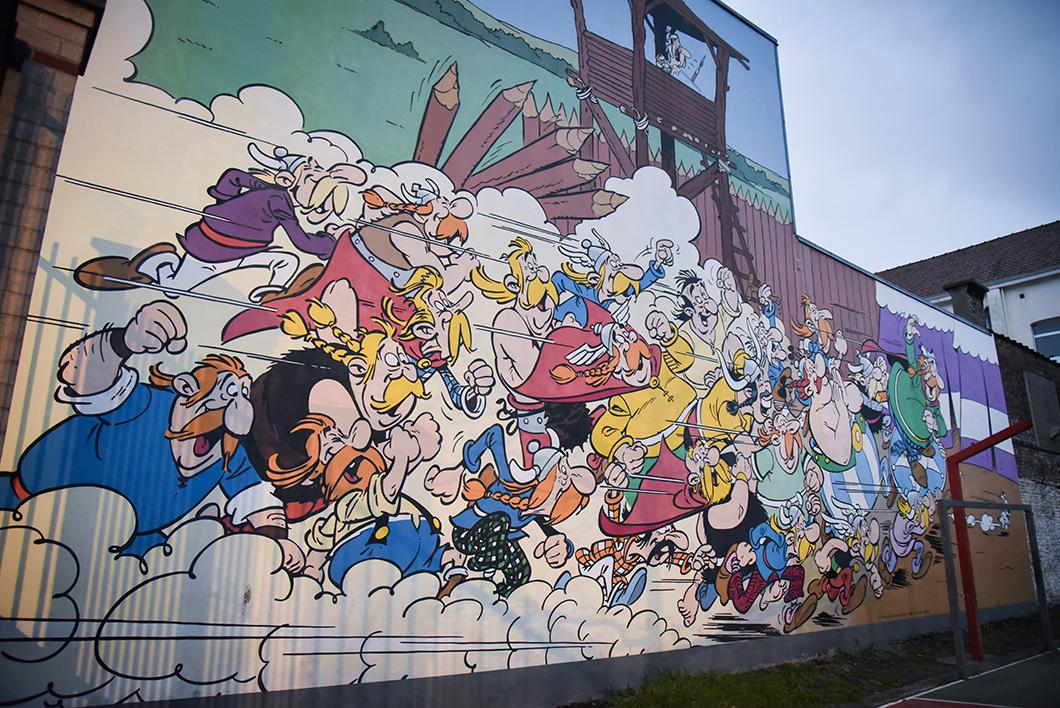 Retrouver les BD cachées sur les murs de Bruxelles