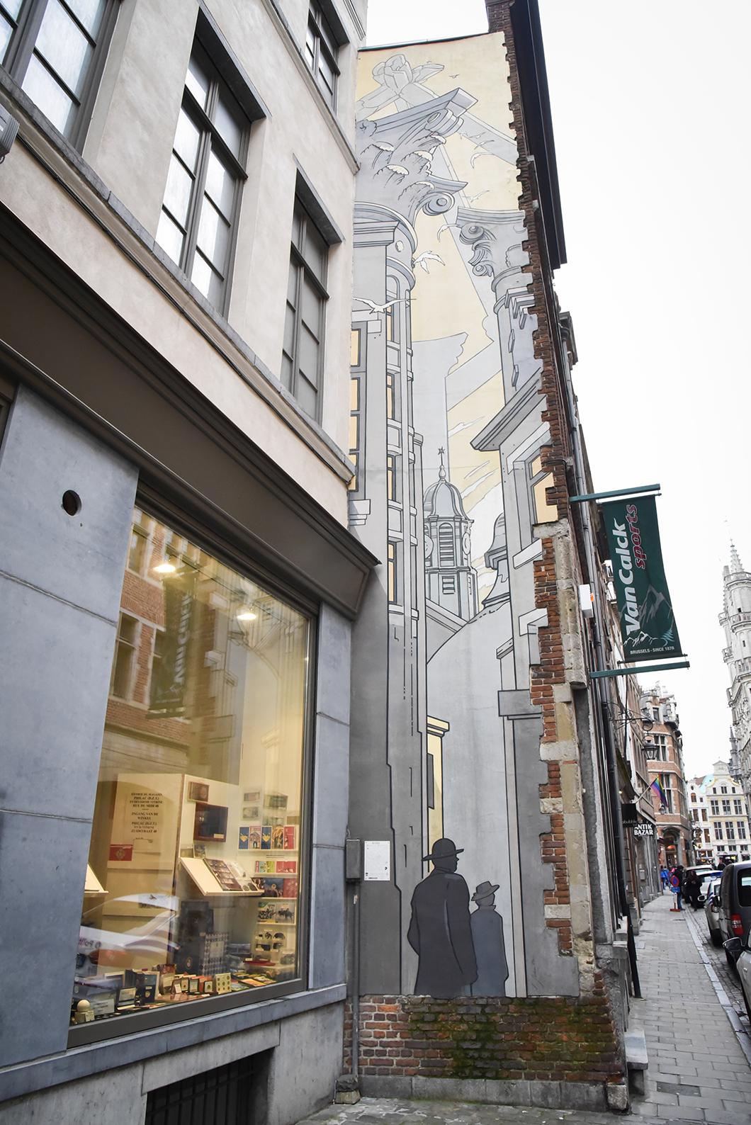 Trouver les BD murales à Bruxelles