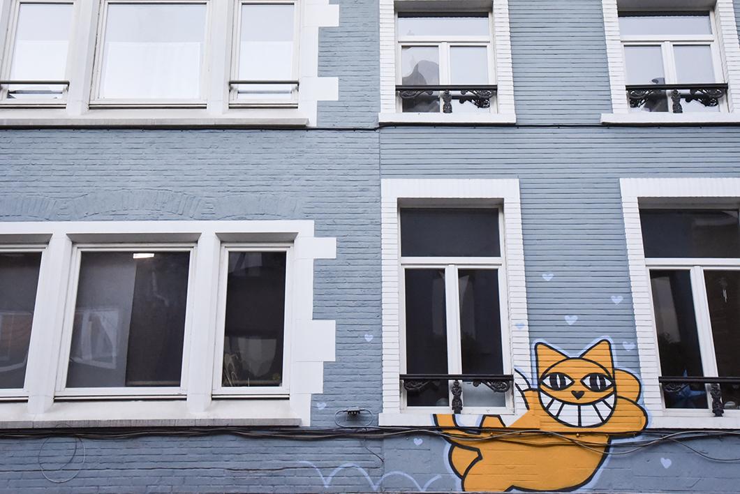 Street art aux Marolles
