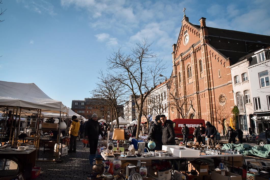 Marchés incontournables à Bruxelles - le marché des Marolles