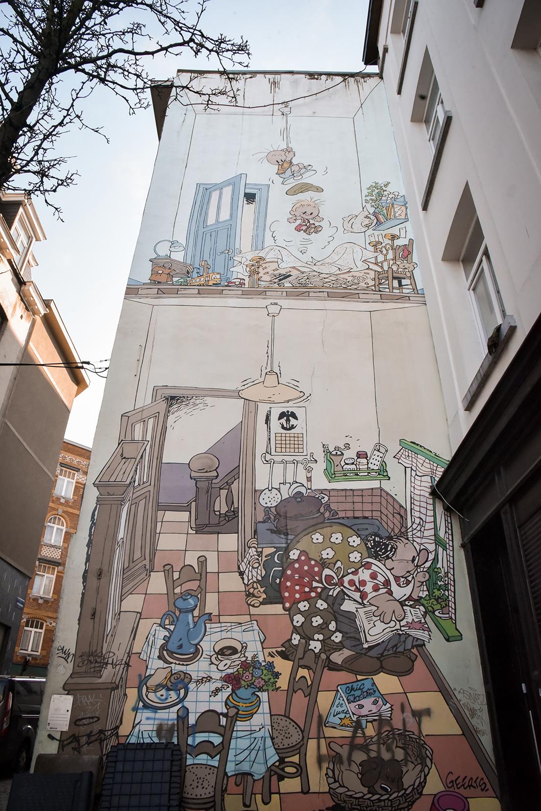 L'univers de la BD à Bruxelles