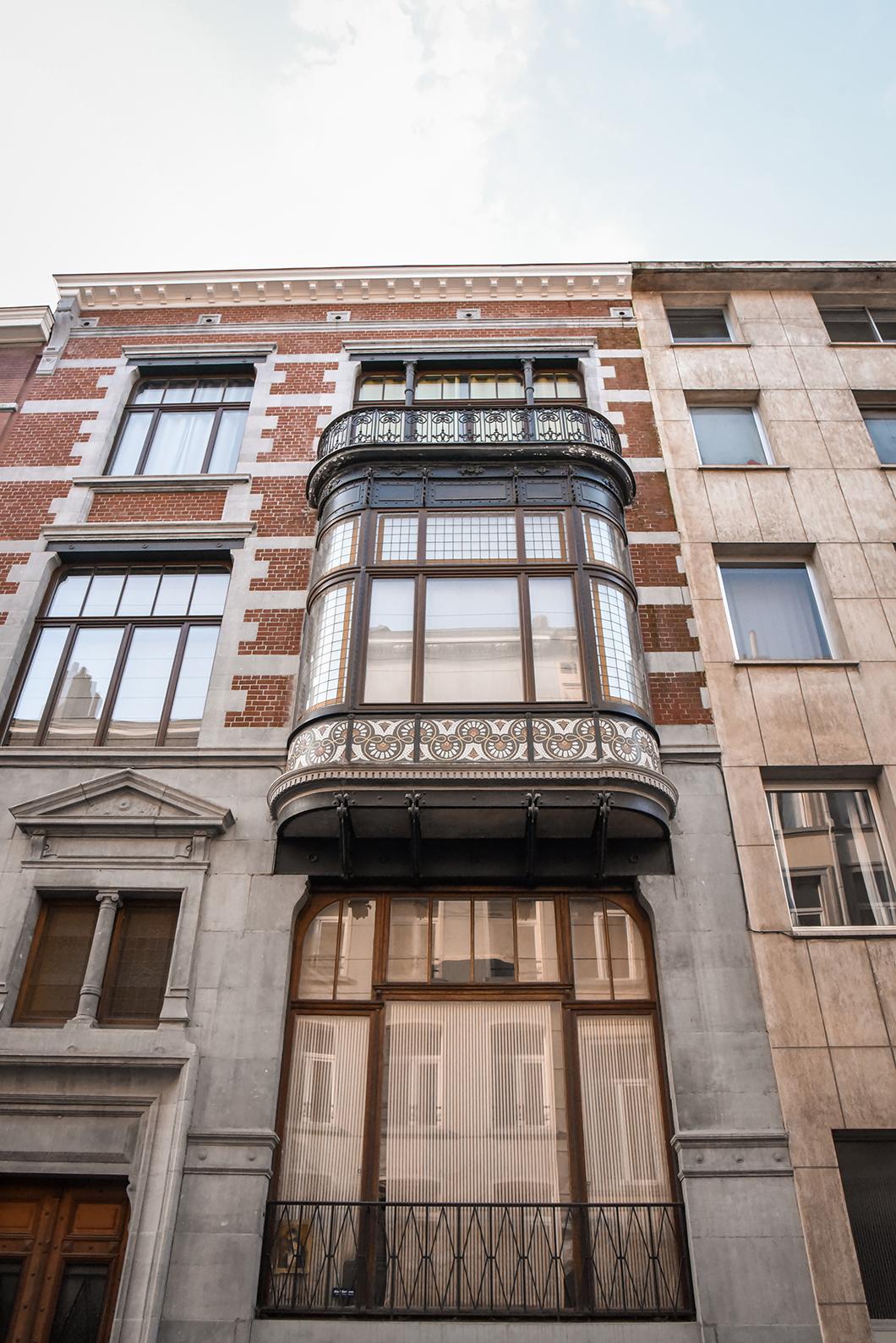 Les bâtiments d'Art Nouveau à Bruxelles