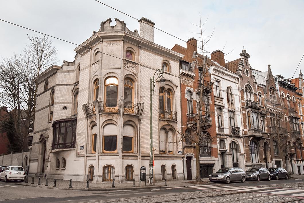 Visite des quartier d'Art Nouveau à Bruxelles