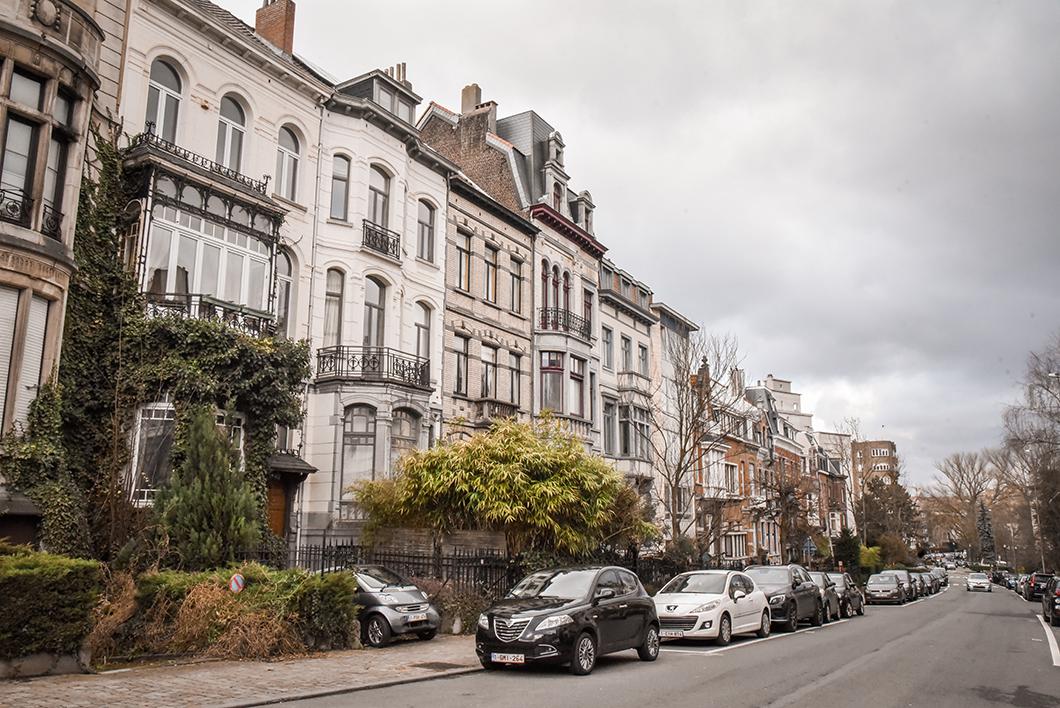 Le joli quartier d'Ixelles