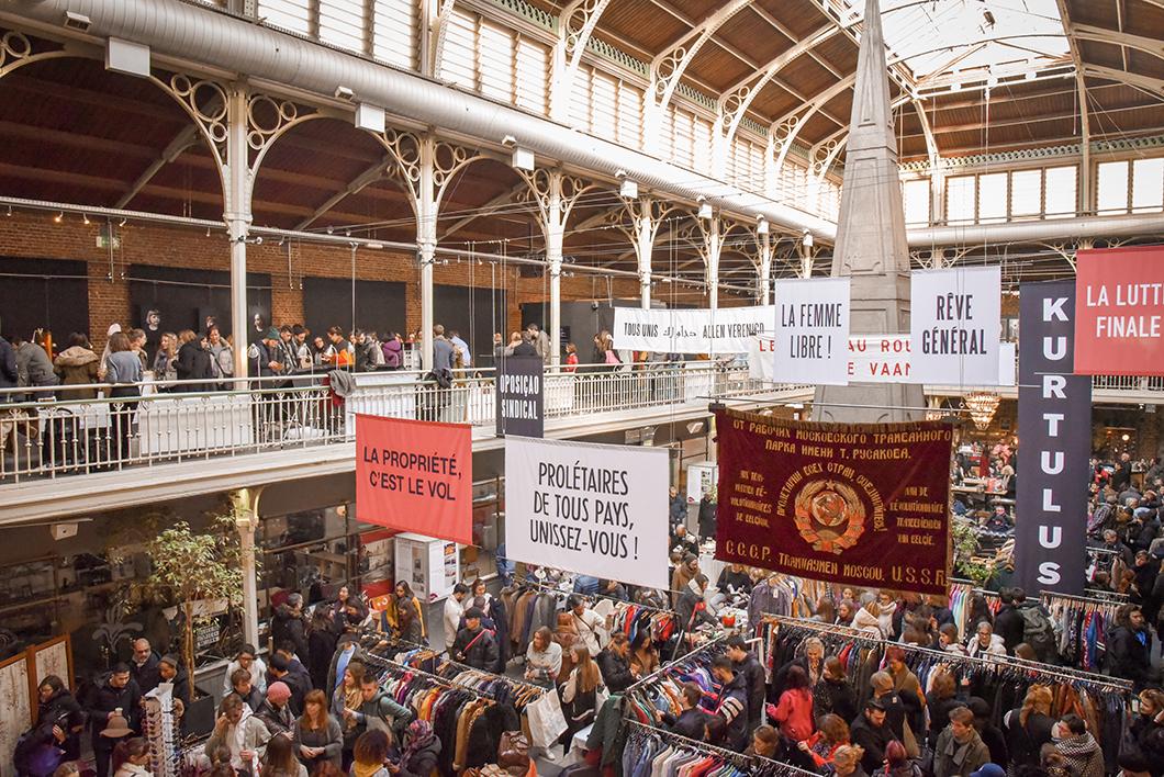 Faire le marché vintage du dimanche à Bruxelles