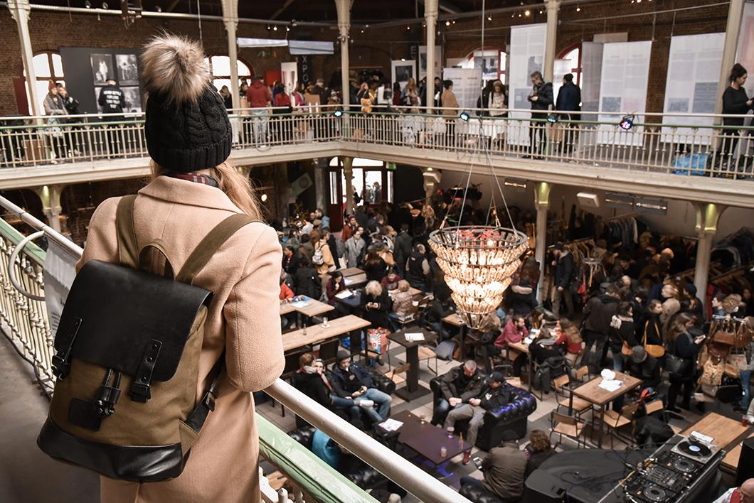 Marché vintage de Bruxelles