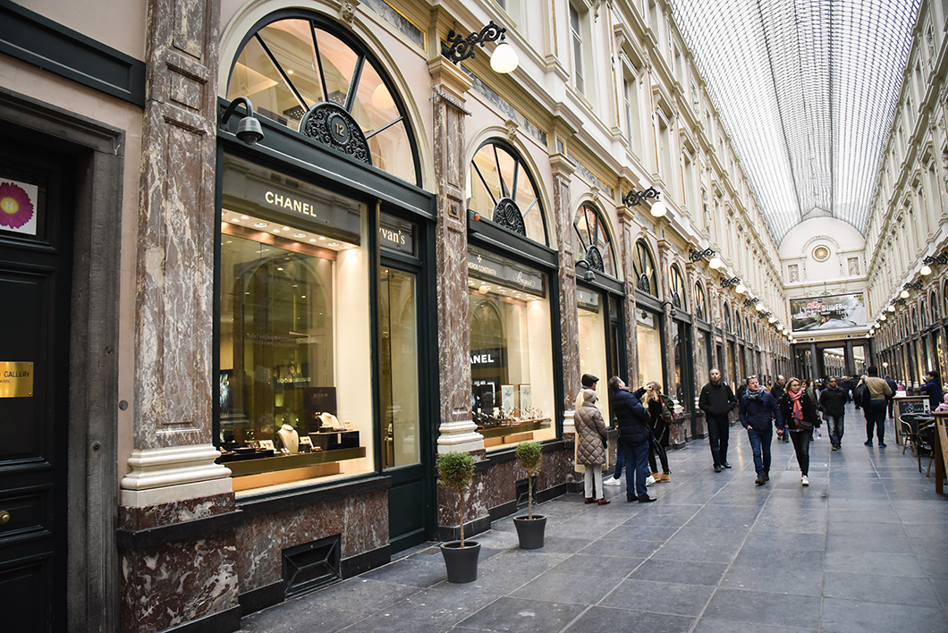 Que faire à Bruxelles ? Galeries Royales Saint-Hubert