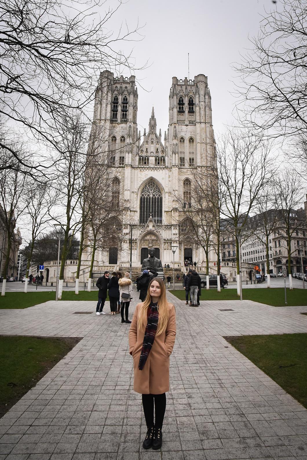 Que faire à Bruxelles ? Cathédrale Saints-Michel-et-Gudule